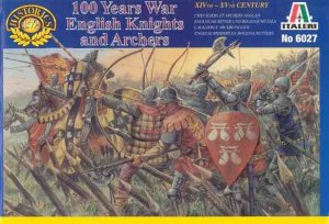 ITALERI 6027 - 1:72 English Knights and Archers