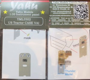 YAHU YML3502 - 1:35 US Tractor CASE VAI - Instrument Panel