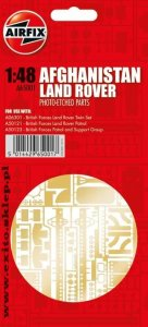 AIRFIX 65001 - 1:48 Afghanistan Land Rover - Photoetched Parts
