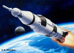 REVELL 04909 - 1:144 Apollo Saturn V