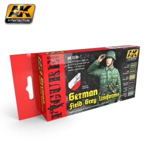 AK INTERACTIVE 3140 - German Field Grey Uniforms Colors