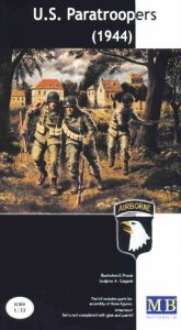 MASTER BOX 3511 - 1:35 U.S. Paratroopers (1944)