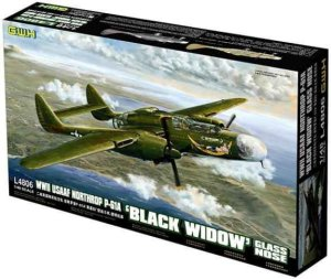 GREAT WALL HOBBY 4806 - 1:48 Northrop P-61A Black Widow (Glass Nose)