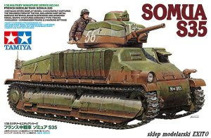 TAMIYA 35344 - 1:35 Somua S35 French Medium Tank