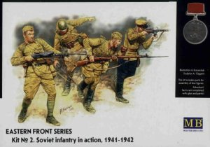 MASTER BOX 3523 - 1:35 Frontier Fighting, Summer 1941, Russian Infantry