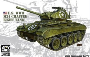 AFV CLUB 35054 - 1:35 US WWII M24 Chaffee Light Tank