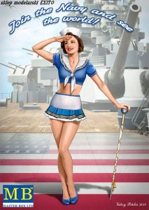 MASTER BOX 24004 - 1:24 Pin-up series Kit No.4 Suzie
