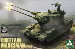 TAKOM 2039 - 1:35 Chieftain Marksman SPAAG British Air-Defence Weapon System