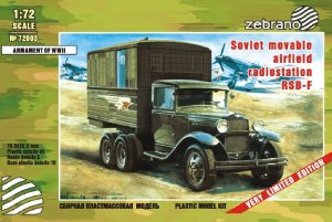 ZEBRANO 72003 - 1:72 RSB-F Soviet Movable Airfield Radio Station