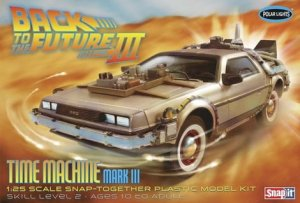 POLAR LIGHTS 926 - 1:25 Back to the Future III Time Machine