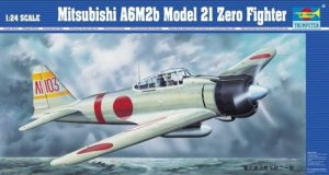 TRUMPETER 02405 - 1:24 Mitsubishi A6M2b Model 21 Zero Fighter