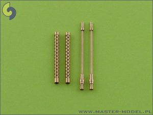MASTER AM-32-002 - 1:32 German aircraft machine gun MG-17 barrels (2pcs)