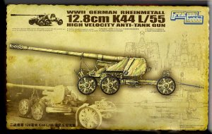 GREAT WALL HOBBY 3523 - 1:35 Rheinmetall 12,8 cm K44 L/55 Anti Tank Gun