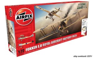 AIRFIX 50177 - 1:72 Fokker E.II & RAF BE2c - Dogfight Doubles Gift Set