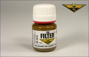 MIG P402 - Brown Filter for Desert Yellow