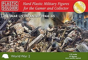 PLASTIC SOLDIER 20006 - 1:72 US Infantry 1944-45