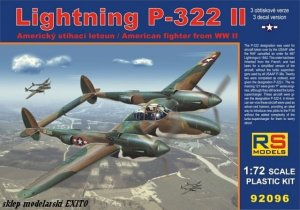 RS MODELS 92096 - 1:72 Lightning P-322 II