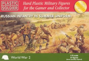 PLASTIC SOLDIER 20001 - 1:72 Russian Infantry in Summer Uniform