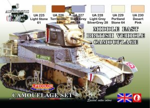 LIFECOLOR CS 16 - Middle East British Vehicle Camouflage