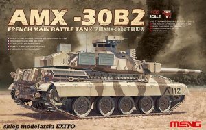 MENG MODEL TS013 - 1:35 AMX-30B2 French Main Battle Tank