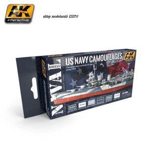 AK INTERACTIVE 5000 - US Navy Camouflages WWII