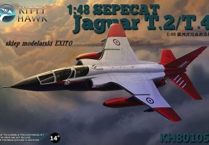 KITTY HAWK 80105 - 1:48 SEPECAT Jaguar T.2/T.4
