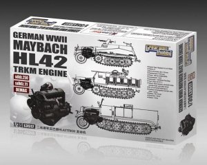 GREAT WALL HOBBY 3517 - 1:35 WWII German Maybach HL42 TRKM Engine