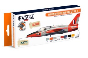 HATAKA CS70 - Modern Royal Air Force paint set vol. 3