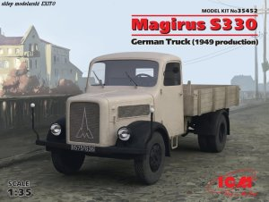 ICM 35452 - 1:35 Magirus S330 German Truck (1949 production)