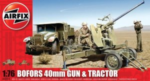 AIRFIX 02314 - 1:76 Bofors Gun and Tractor