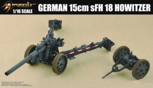 MERIT 61601 - 1:16 German 105 mm K18 Cannon