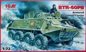ICM 72911 - 1:72 BTR-60PB, Armored Personnel Carrier