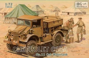 IBG 72016 - 1:72 Chevrolet C.15A No.11 Cab Watertank