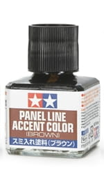 TAMIYA 87132 - Panel Accent Color - Brown