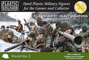 PLASTIC SOLDIER 15007 - 15 mm US Infantry Heavy Weapons