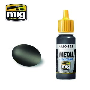 AMMO MIG 192 - Polished Metal - farba akrylowa metaliczna 17ml