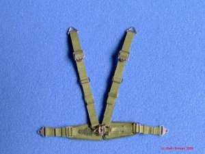 RB PRODUCTIONS P320062 - 1:32 Luftwaffe Seatbelts - Late-war (Olive green)