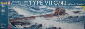 REVELL 05100 - 1:144 German Submarine Type VII C/41 Atlantic Version