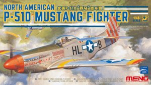 MENG MODEL LS006 - 1:48 North American P-51D Mustang Fighter