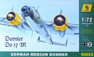 RS MODELS 92023 - 1:72 Dornier Do 17 M