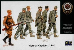 MASTER BOX 3517 - 1:35 German Captives 1944