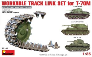 MINIART 35146 - 1:35 T-70M Workable Track Link Set