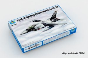 TRUMPETER 03911 - 1:144 F-16A/C Fighting Falcon Block15/30/32