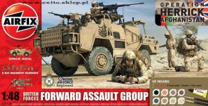 AIRFIX 50124 - 1:48 British Forces Forward Assault Group - Afghanistan