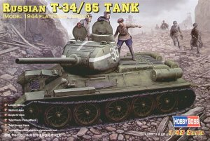 HOBBY BOSS 84807 - 1:48 Russian T-34/85 (model 1944 flattened turret) Tank