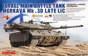 MENG MODEL TS025 - 1:35 Israel Main Battle Tank Merkava Mk.3D Late LIC
