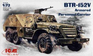 ICM 72531 - 1:72 BTR-152V, Soviet Armored Personnel Carrier