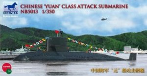 BRONCO NB 5013 - 1:350 Chinese Yuan Class Attack Submarine