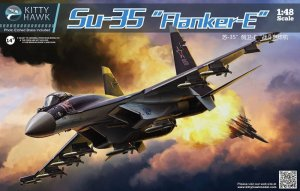KITTY HAWK 80142 - 1:48 Sukhoi Su-35 Flanker E