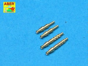 ABER A32003 - 1:32 Set of 4 barrel tips for German 7,92 mm MG17 aircraft machine guns